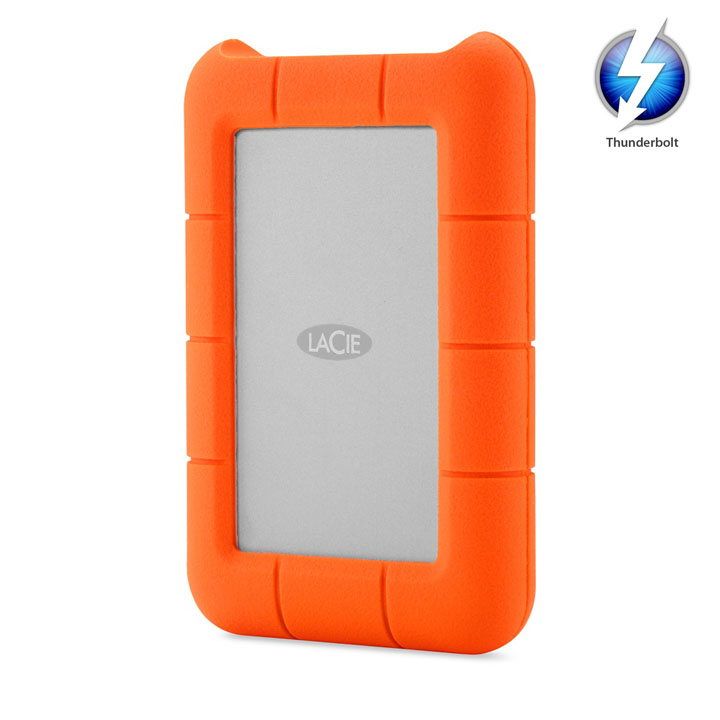 Lacie Rugged ThunderBolt Mobile Storage