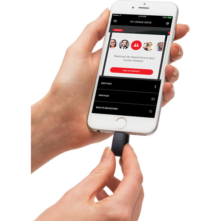 SanDisk iXpand Flash Drive for iPhone, iPad