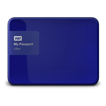 WD My PassPort Ultra 1TB - Blue