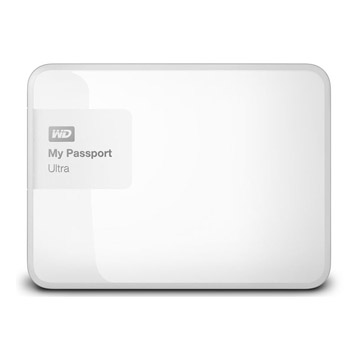 WD My PassPort Ultra 500GB - White