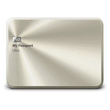 WD My PassPort Ultra Metal Edition 1TB - Gold