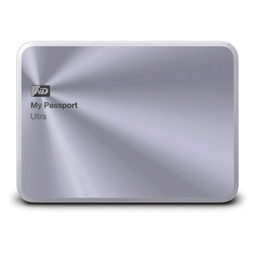 WD My PassPort Ultra Metal Edition 1TB - Silver