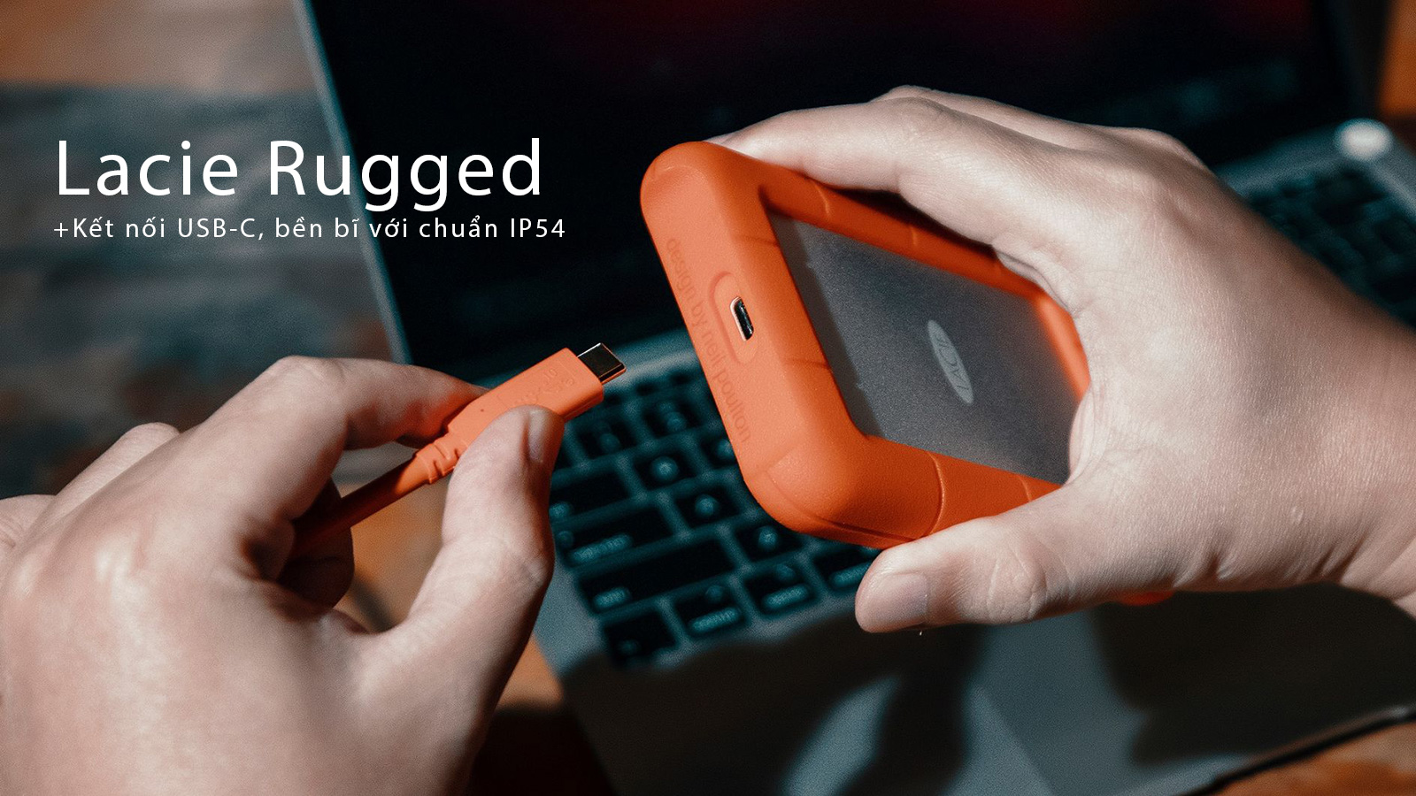 Ổ cứng Lacie Rugged USB-C