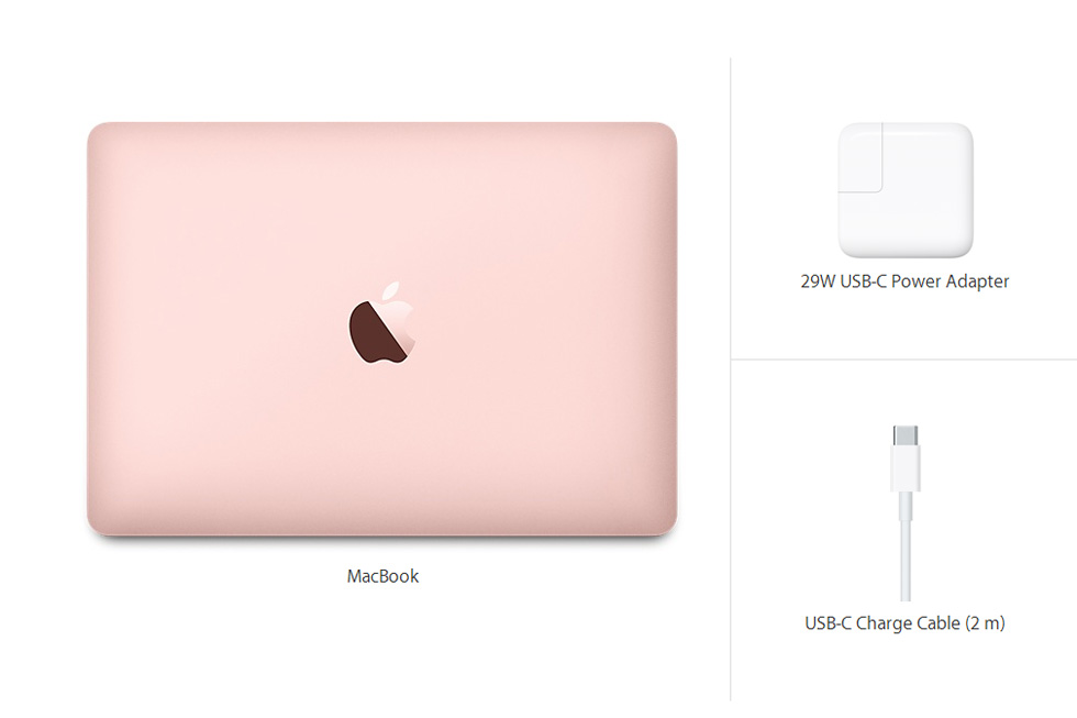 MacBook 12-inch Rose Gold