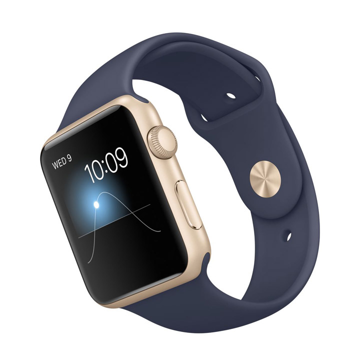 Apple Watch Sport Gold