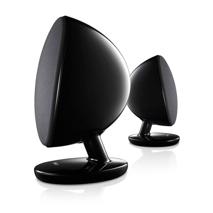 Loa KEF Egg Black