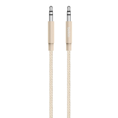 Cable Belkin AUX Metallic