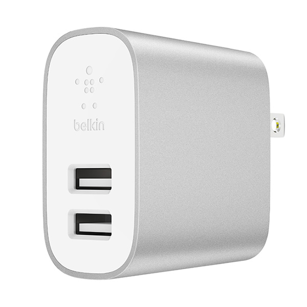 Sạc Belkin Boost Charge 2 port 24W Home Charger