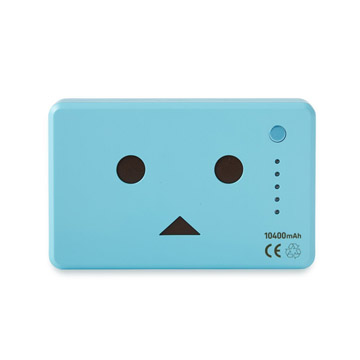 Pin sạc Cheero PowerPlus Danboard 10400mAh Blue