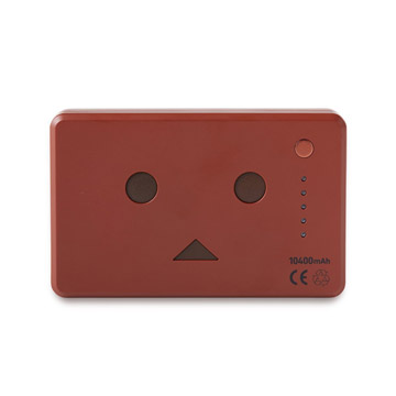 Pin sạc Cheero PowerPlus Danboard 10400mAh DarkRed