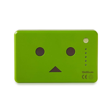 Pin sạc Cheero PowerPlus Danboard 10400mAh Green