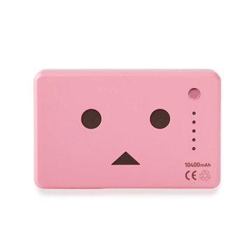 Pin sạc Cheero PowerPlus Danboard 10400mAh Pink