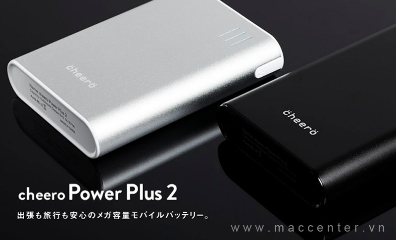 pin sạc Cheero Power Plus 2 10400mAh