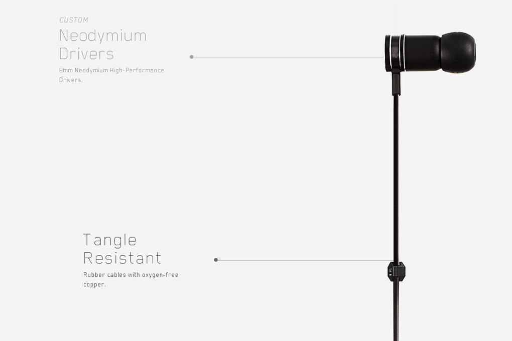 Master & Dynamic ME01 Earphone