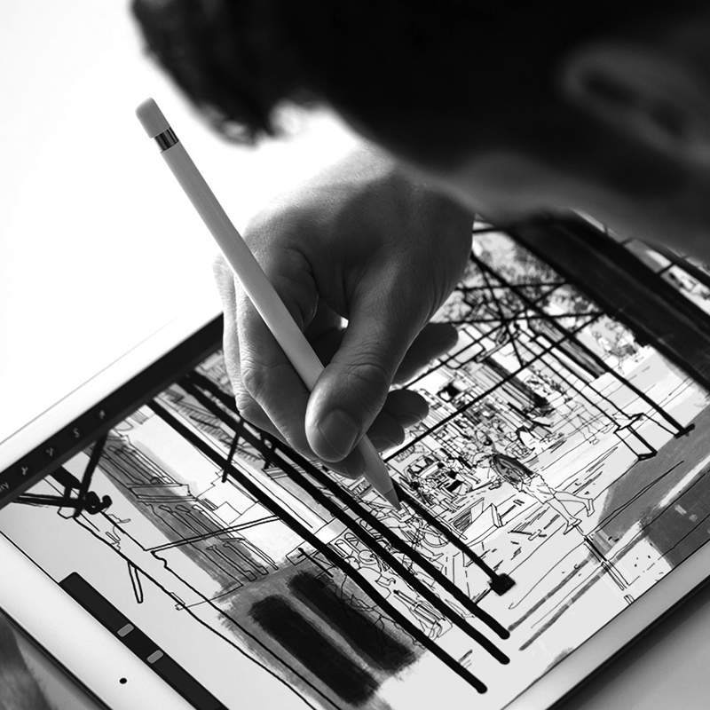 Viết Apple Pencil 2