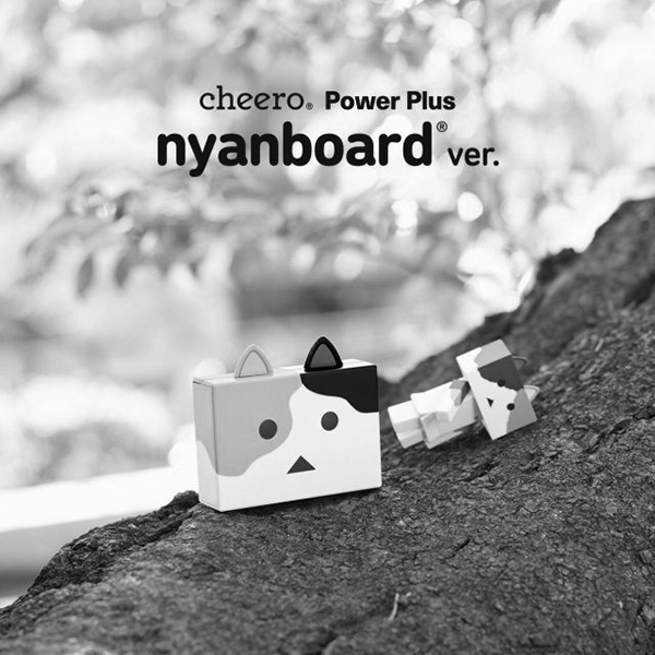 Pin sạc Cheero Nyanboard Mike
