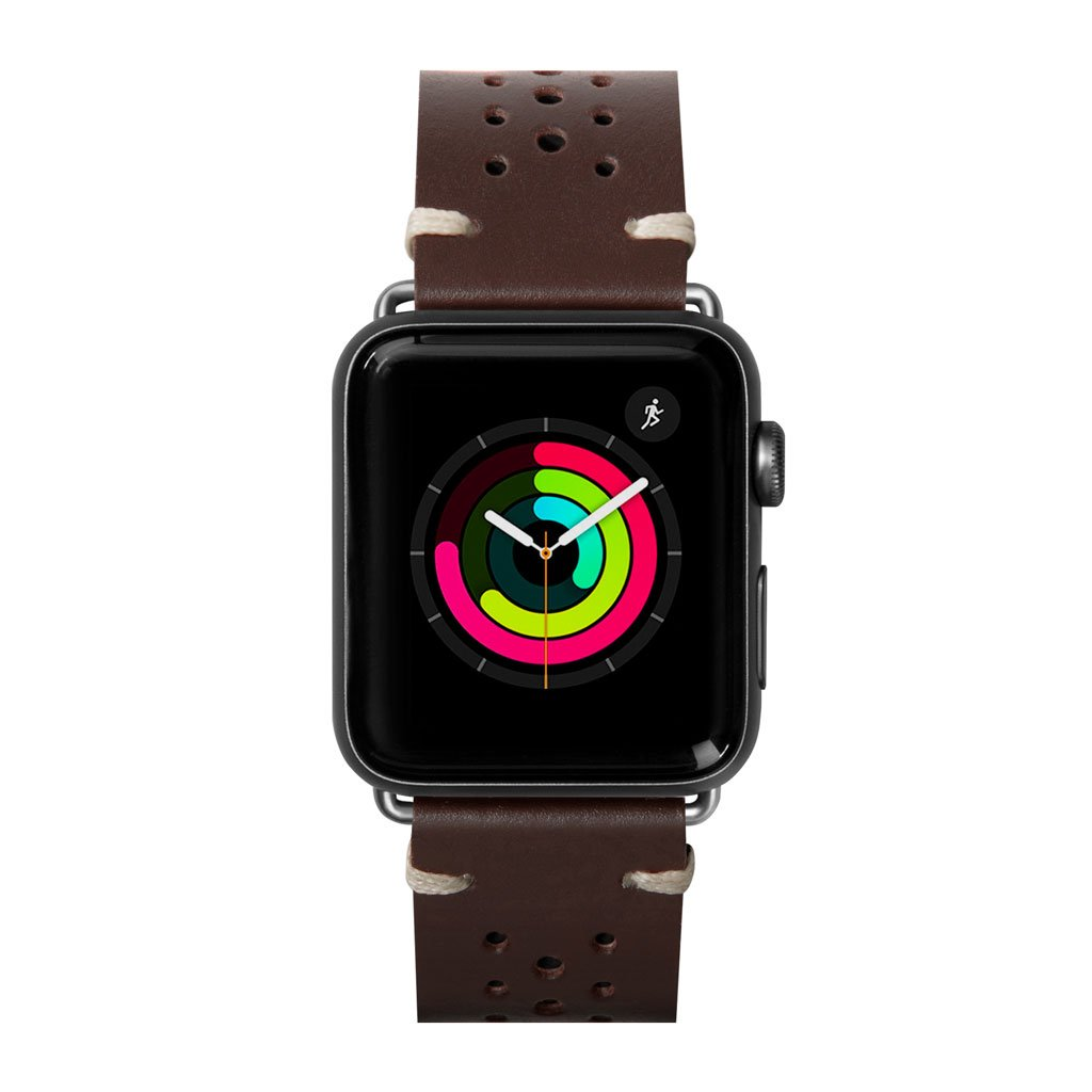 Dây đeo Apple Watch LAUT Heritage Brown