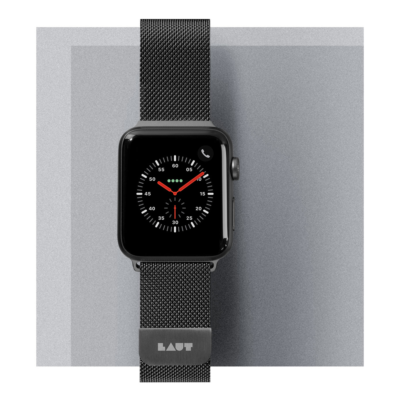 Dây đeo Apple Watch LAUT Steel Loop